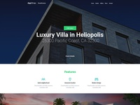 Real Estate homepage & subtheme coming soon