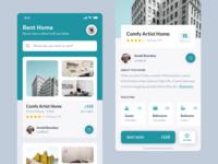 Rent Home App Concept