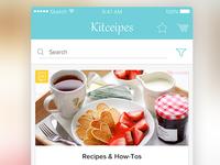 Mobileapp Kitceipes