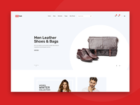 Clean, Minimal eCommerce PSD Template