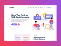 Digital Marketing PSD Template