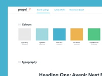 Propel Style Guide