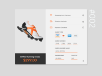 DailyUI #002 - Credit Card Checkout