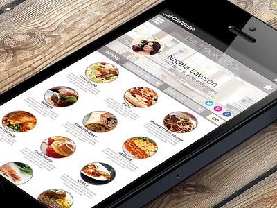 Cook Book App app iphone cooking food