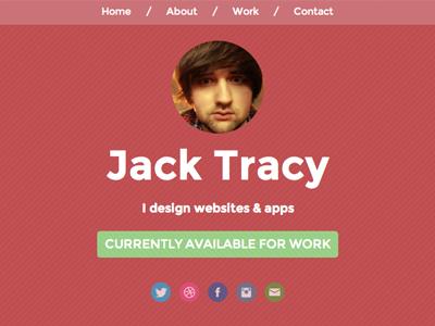 Portfolio Website portfolio website design