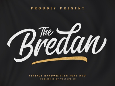 The Bredan Font