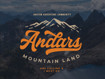 Adventure Font - Adventure Logo Design
