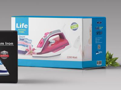 Free appliances Packaging Mockup