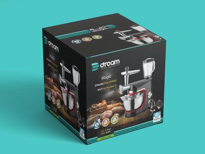 Free Appliances Packaging Design Mockup