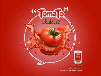 Tomato juice facebook ads