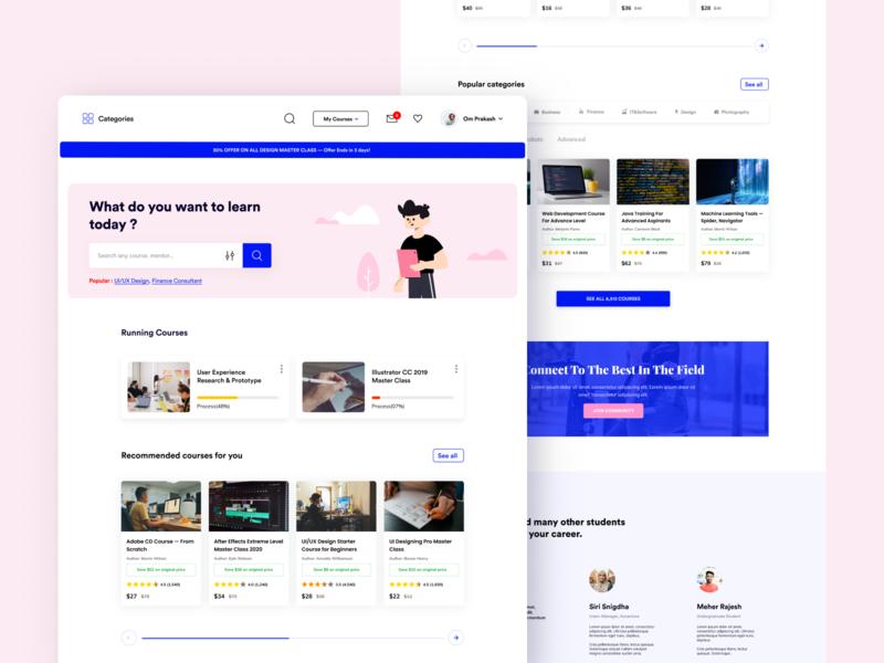 Online Learning Platform-Website