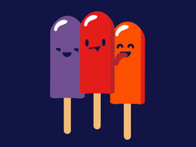 Even other popsicles prefer Red flavor vote derby woot tshirt tee t-shirt cute popsicle