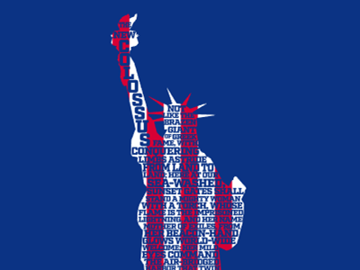 Give me your tired, your poor, your huddled masses vote derby woot tshirt tee t-shirt july 4th independence day lady liberty