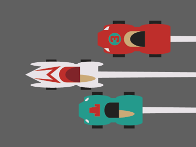 Go Speed Racer! vote derby woot tshirt tee t-shirt racing cars speed racer