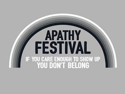 BUY Apathy Festival buy tshirt tee t-shirt whatever apathy