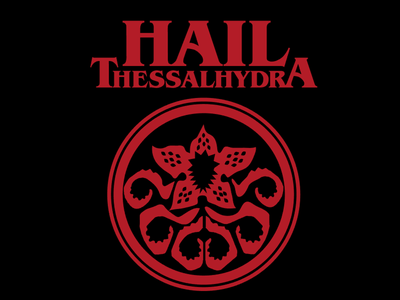 Hail Thessalhydra vote derby woot tshirt tee t-shirt hydra avengers marvel stranger things