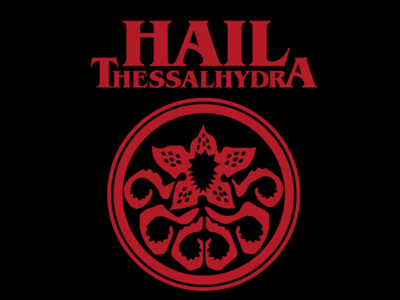 Hail Thessalhydra vote derby woot tshirt tee t-shirt hydra avengers marvel stranger things