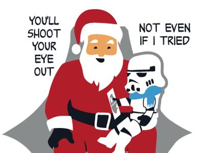 Christmas Clone Story tshirt tee t-shirt woot derby vote star wars christmas story
