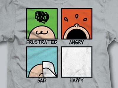 Emotional Summary of 2017 minimalism derby vote charlie brown peanuts woot tee t-shirt