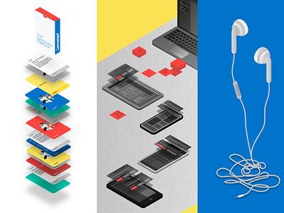 Turning Noise Into Sound Whitepaper graphic  design layout design editorial design editorial illustration design branding illustration