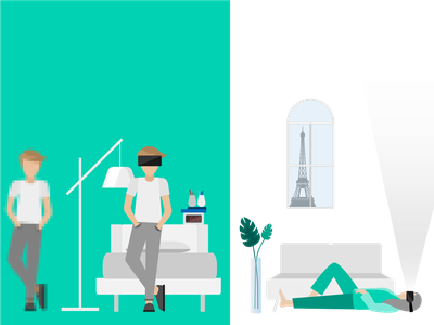 Connected's Smart Home Report | Devices & Tech flat design editorial illustration illustration design graphic  design branding