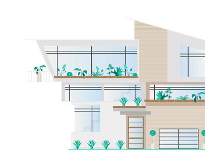Connected's Smart Home Report Illustrations | House & Home design flat design editorial illustration illustration graphic  design branding