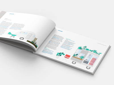 Connected's Smart Home Report | Eco-Friendly editorial design flat design illustration branding editorial illustration graphic  design