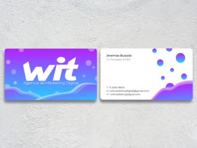 Tarjetas Corporativas - Business Cards