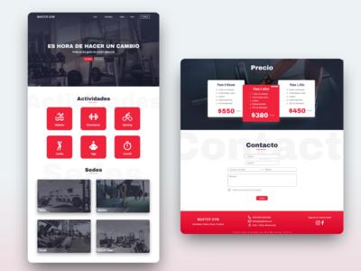 Website - Gym