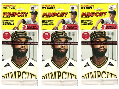 Infamous Johnny Pump baseball card