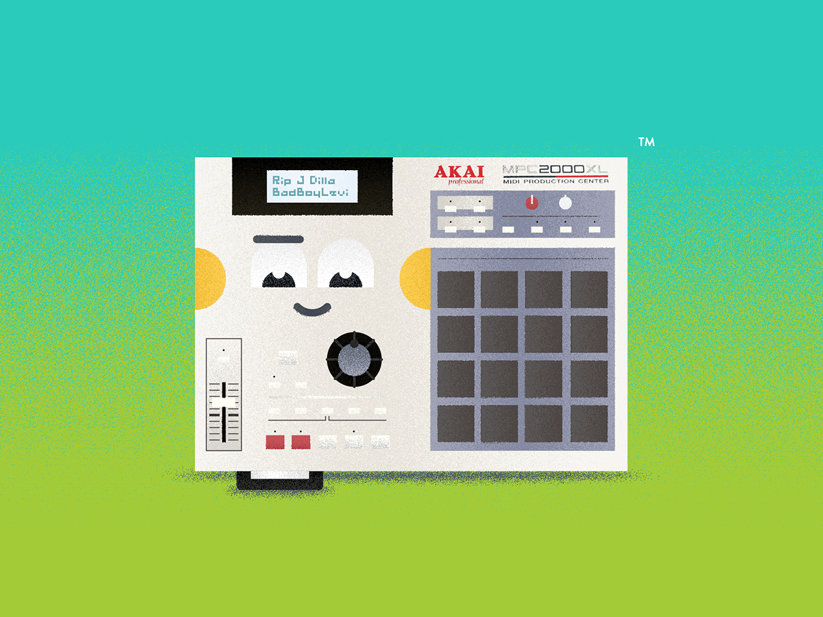 J Dilla changed my life by Levente Bacs on Dribbble