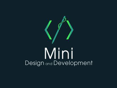 web design  and development group logo
