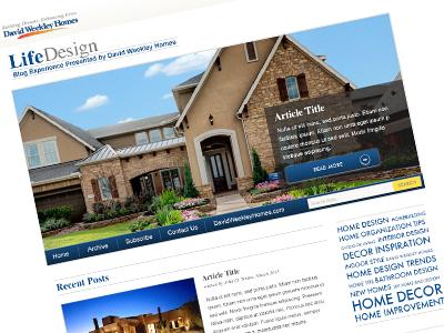 David Weekley Homes blog