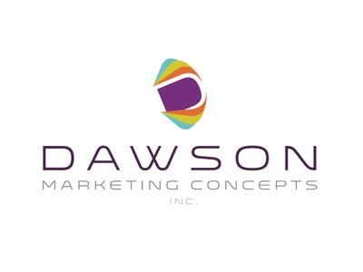 Dawson design branding logo icon events marketing colorful d