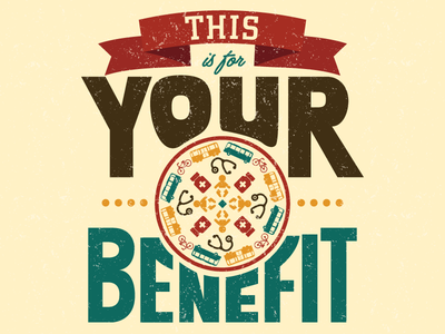 Health Benefits Poster lettering health typography type print design