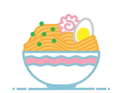 ramen vector illustration adobe illustrator
