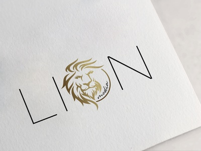 lionmedia2 logodesign logotype logo design illustration typography design branding logo