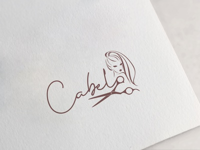 cabelo logodesign logotype logo design illustration typography design branding logo