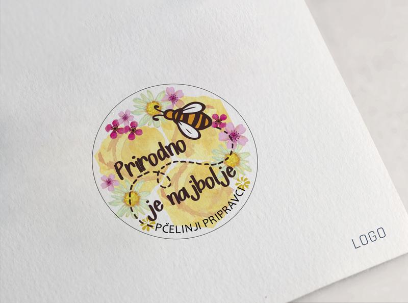 honey product logo