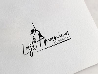 lajtmanica logo design concept logodesign logotype logo design illustration logo typography design branding