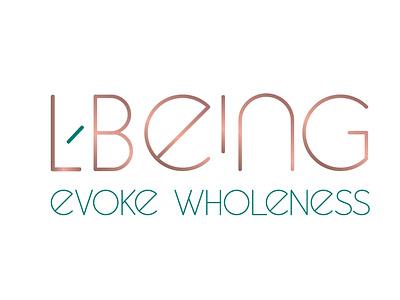 lbeing logo logotype logo design logo typography design branding