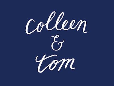 colleen & tom