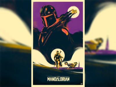 The Mandalorian Illustration