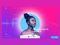 Music Concept HomePage