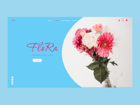 Flowers Homepage Concept