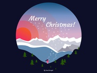 Merry Christmas To You! merry xmas graphic design vector illustration