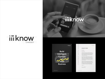 Branding of iiiKnow Chatbot logo branding