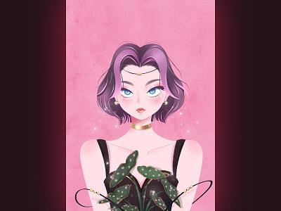 少女系列 illustration