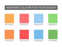 Colours for Your Delight