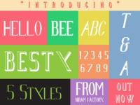 Besty Typeface